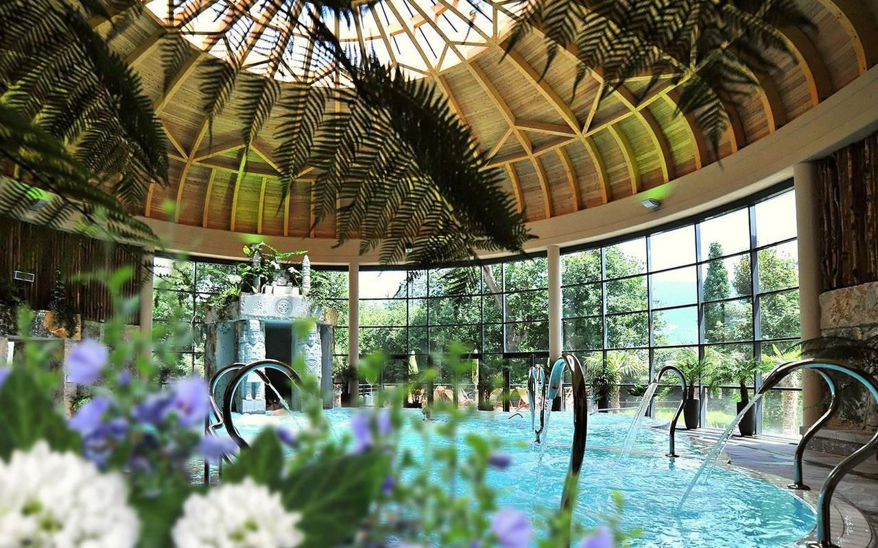 Swimming pool, Lourdes travel, Hôtel Continental Lourdes