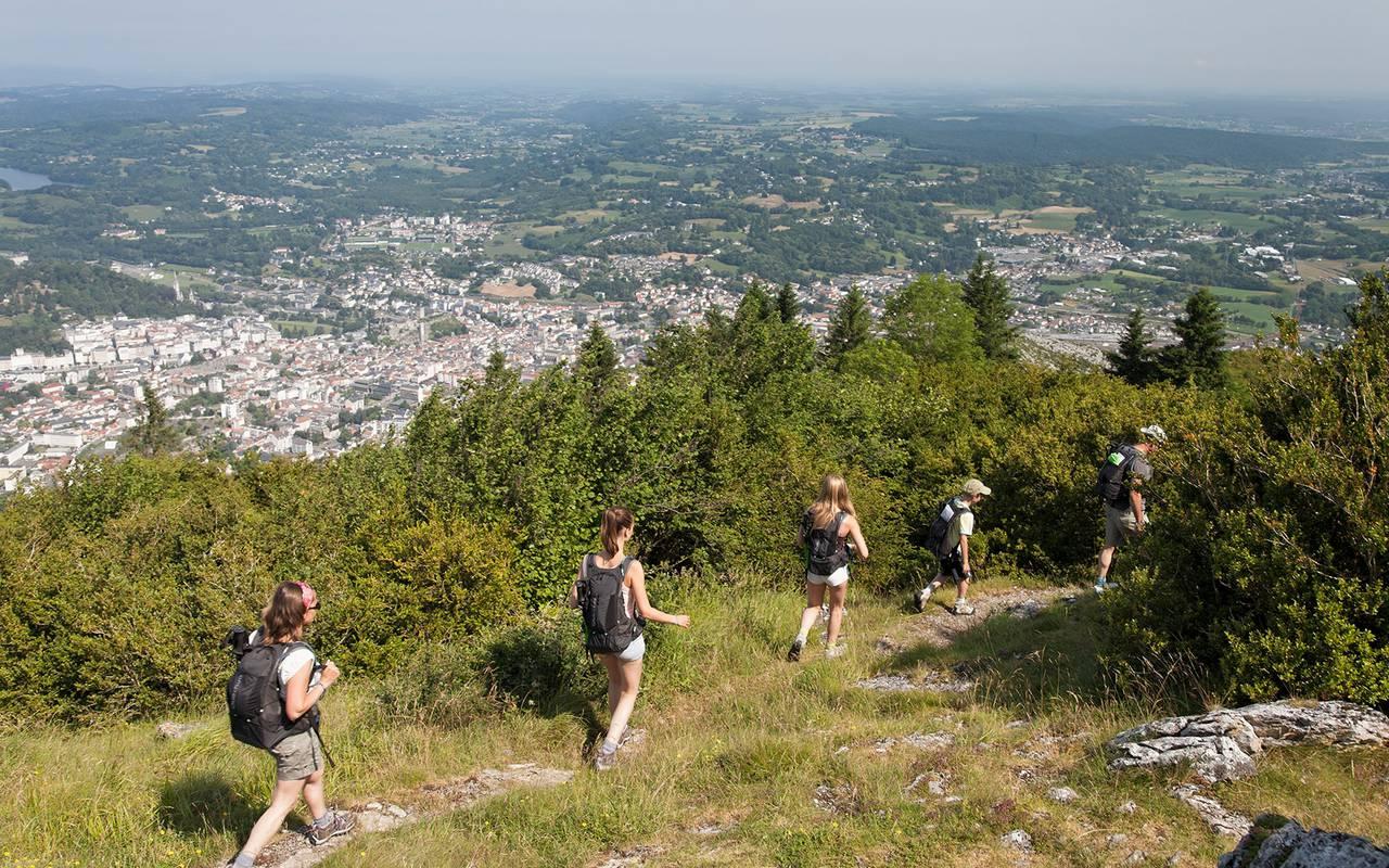Hiking, Lourdes travel, Hôtel Continental Lourdes